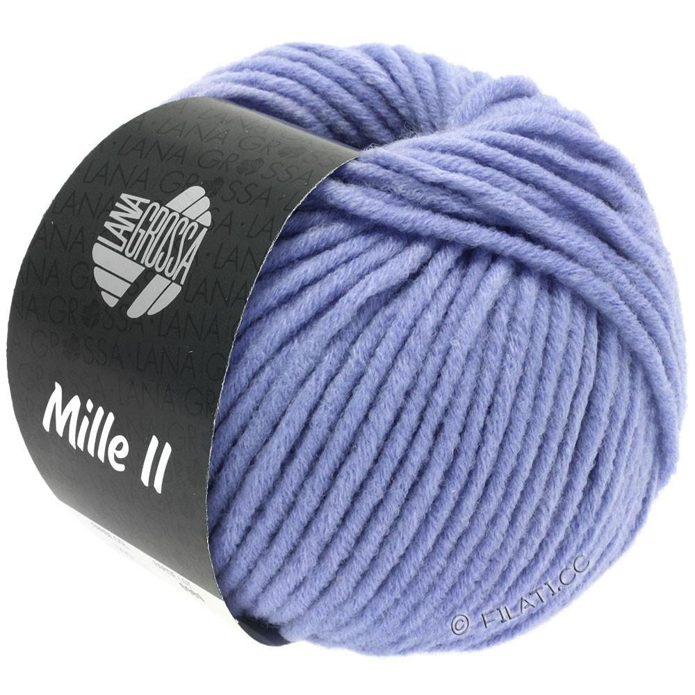 Lana Grossa MILLE II  Uni | 090-violet blue