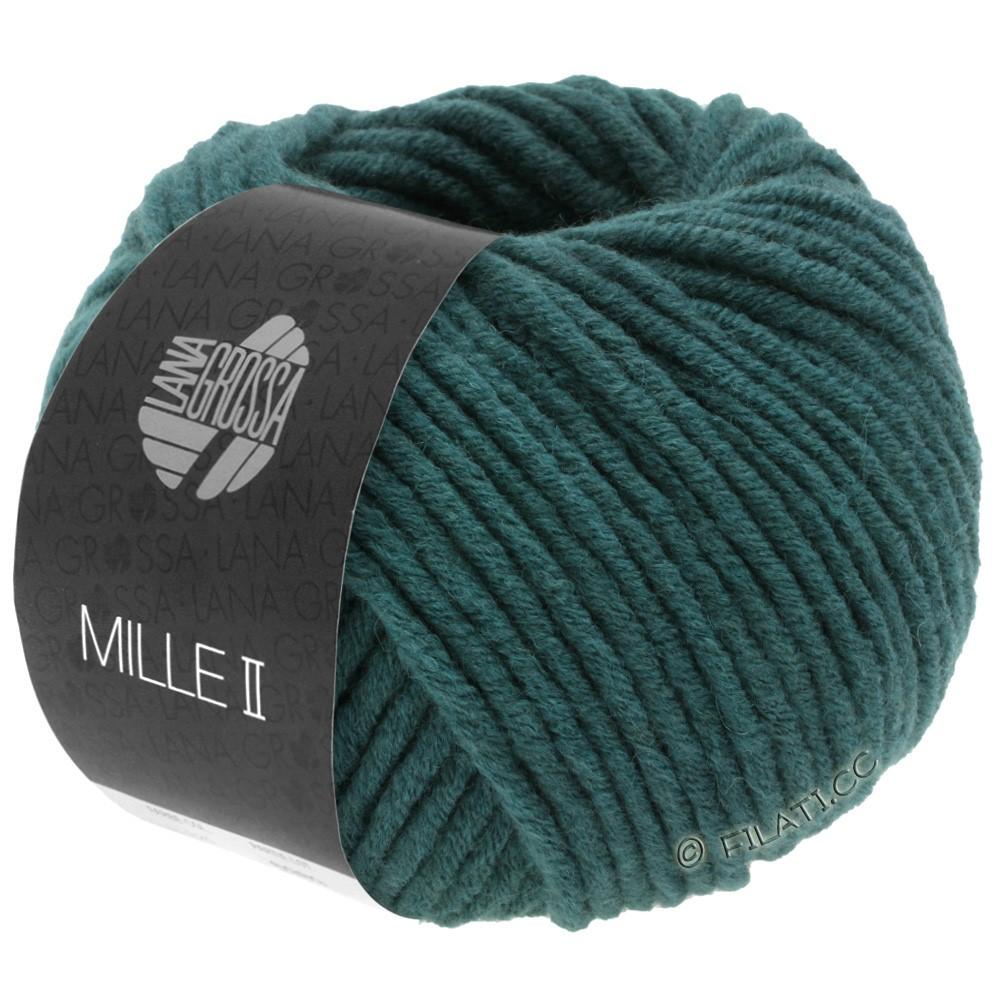 Lana Grossa MILLE II  Uni | 091-green blue