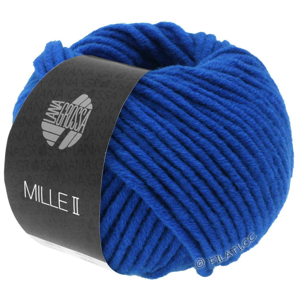 Lana Grossa MILLE II Neon | 505-neon blue