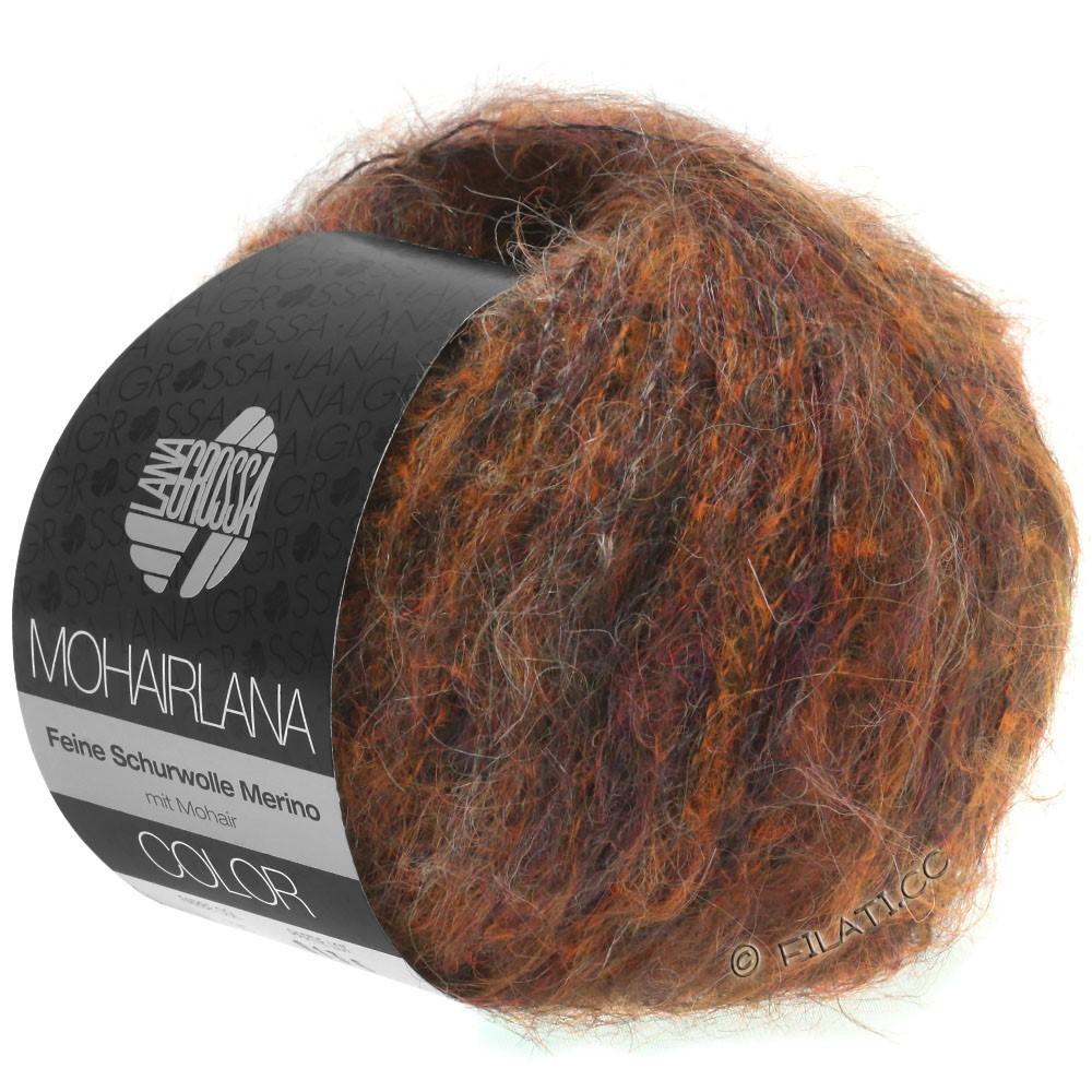 Lana Grossa MOHAIRLANA COLOR | 102-copper/dark brown