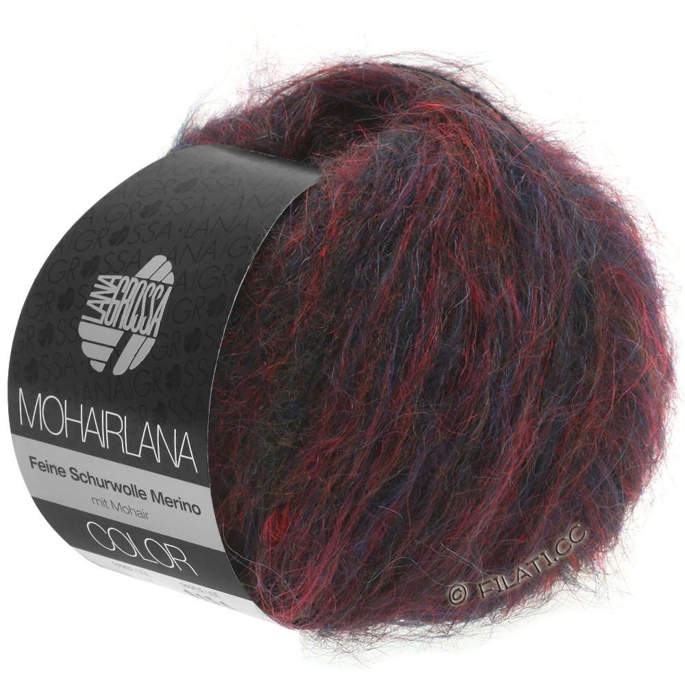 Lana Grossa MOHAIRLANA COLOR | 103-dark red/dark blue