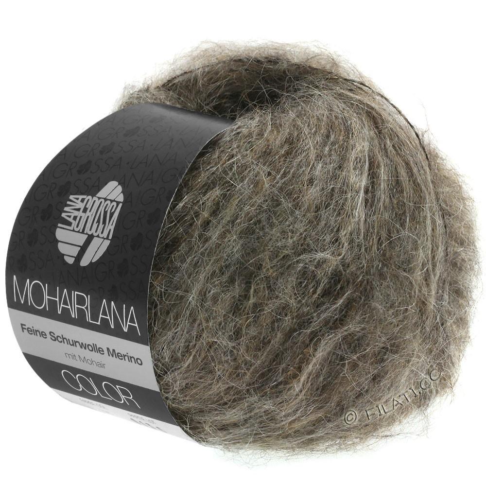 Lana Grossa MOHAIRLANA COLOR | 104-gray brown/mud