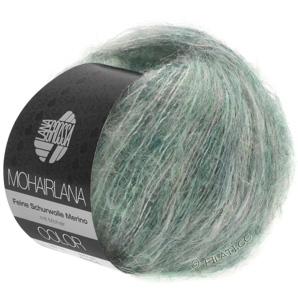 Lana Grossa MOHAIRLANA COLOR | 106-gray green/petrol