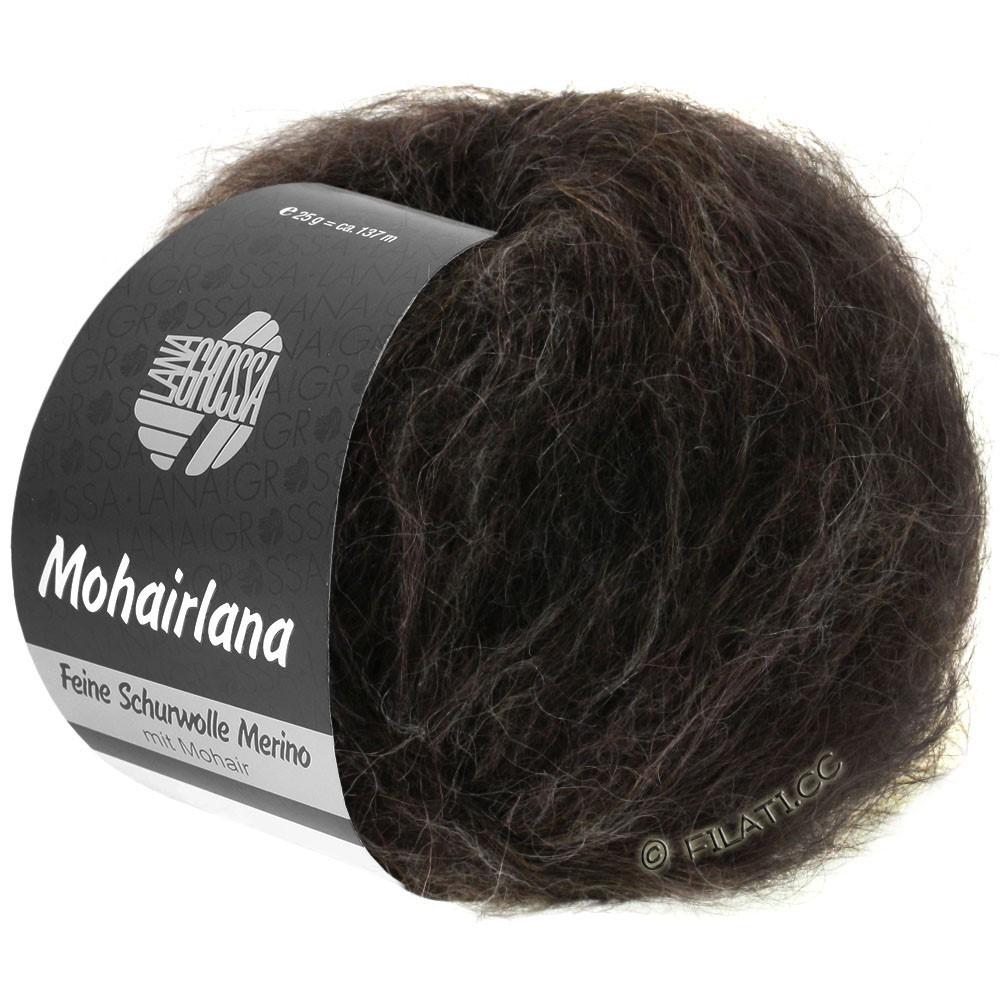 Lana Grossa MOHAIRLANA | 13-black brown