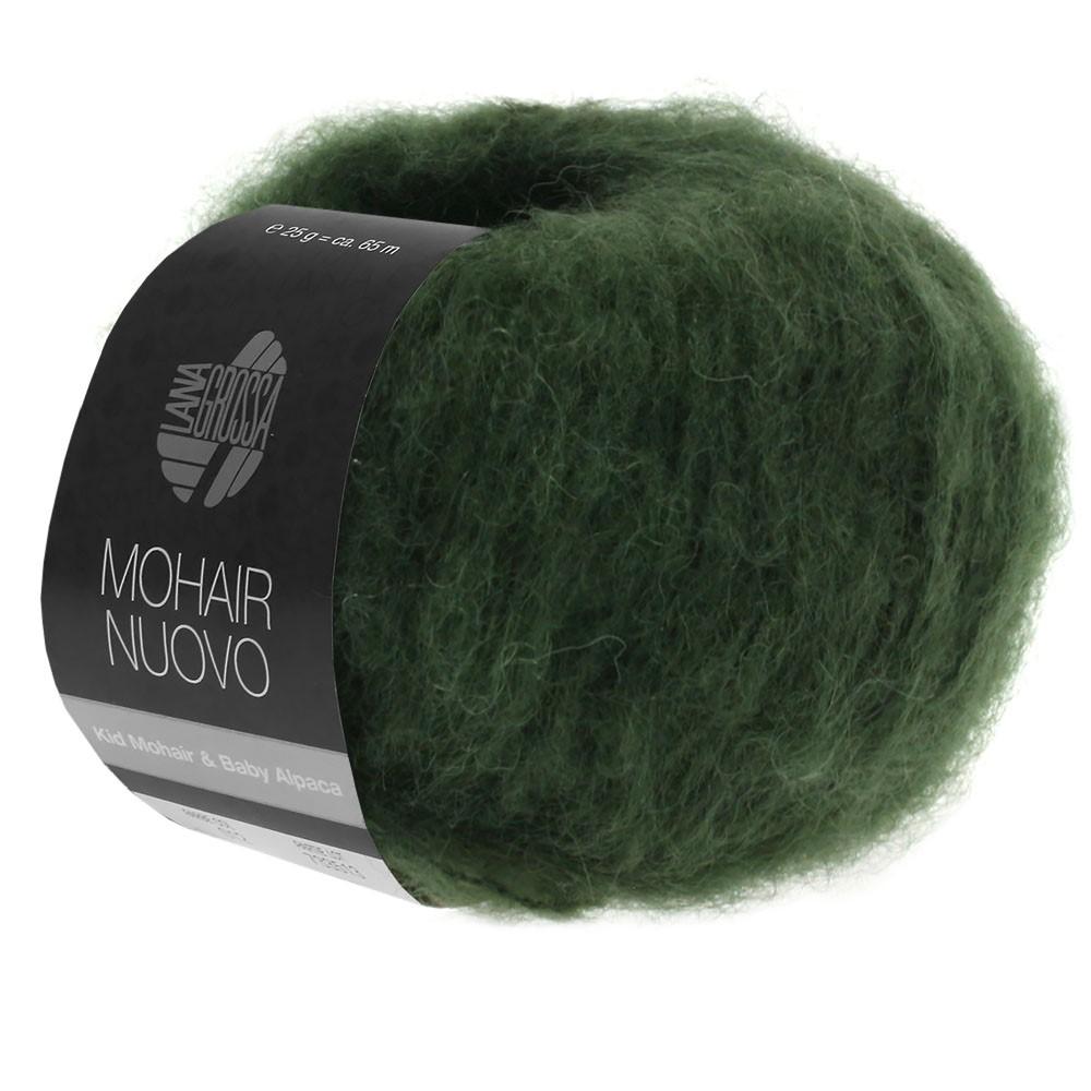 Lana Grossa MOHAIRNUOVO | 05-moss green