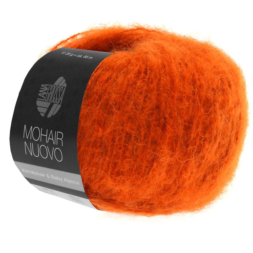 Lana Grossa MOHAIRNUOVO | 11-dark orange