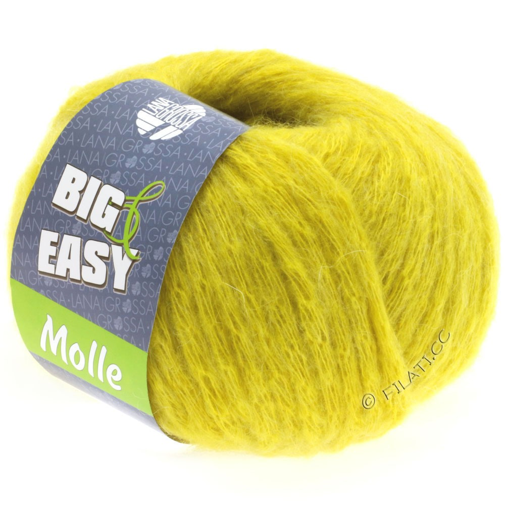 Lana Grossa MOLLE 100g (Big & Easy) | 07-yellow