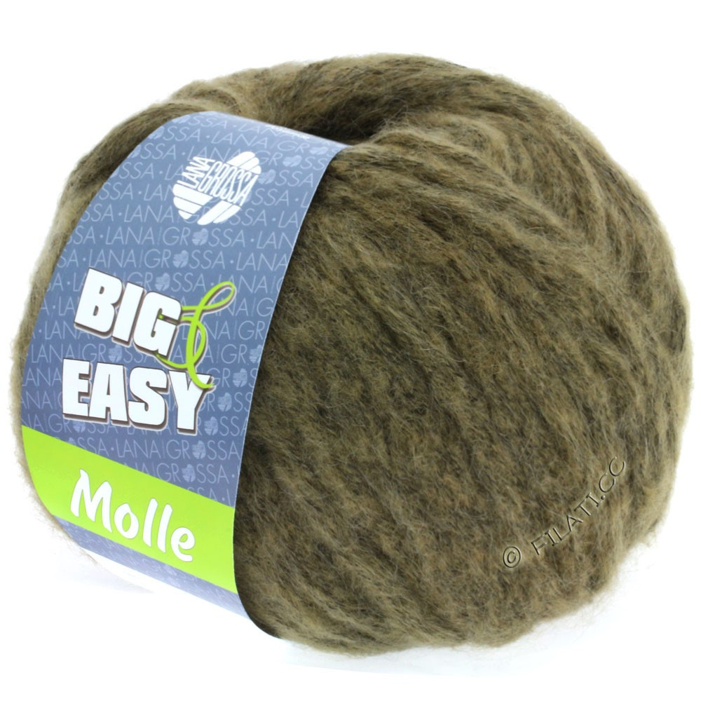 Lana Grossa MOLLE 100g (Big & Easy) | 14-khaki