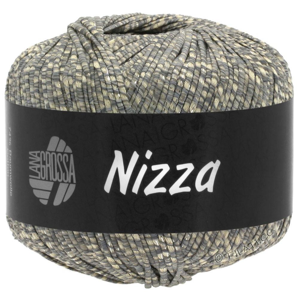 Lana Grossa NIZZA | 08-beige/gray/silver