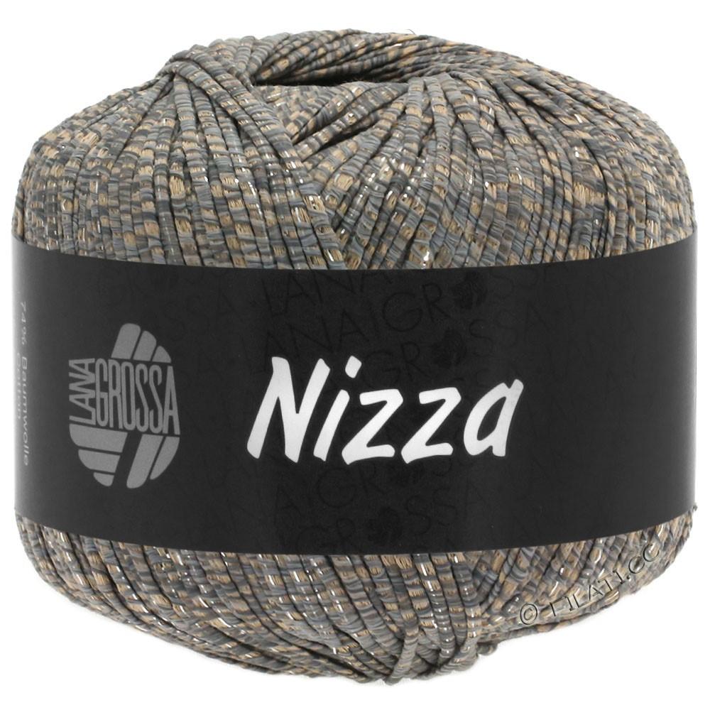 Lana Grossa NIZZA | 09-camel/gray/silver