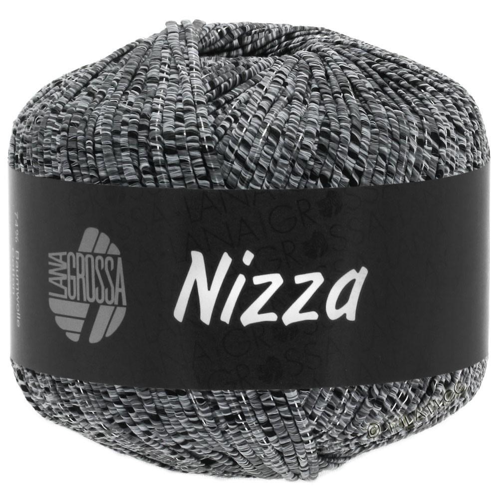 Lana Grossa NIZZA | 12-light gray/black/silver