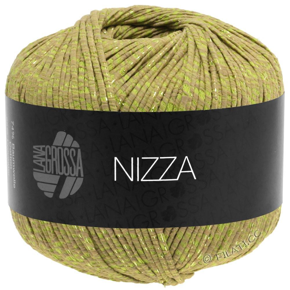 Lana Grossa NIZZA | 14-camel/yellow green/gold