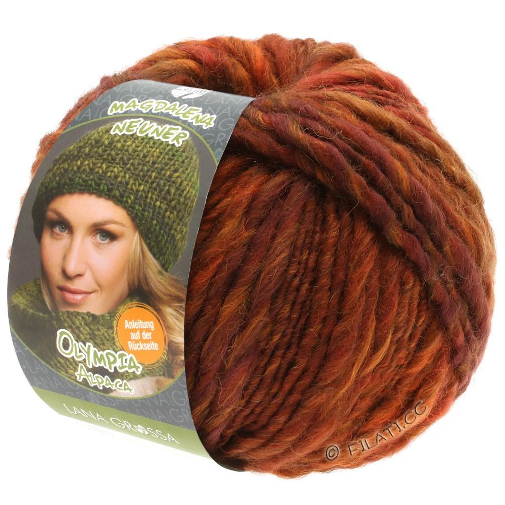 Lana Grossa OLYMPIA Alpaca | 904-cognac/copper mottled