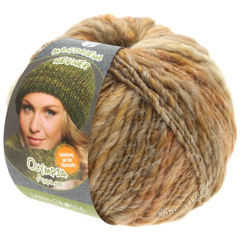 Lana Grossa OLYMPIA Alpaca | 906-beige/sand/taupe mottled