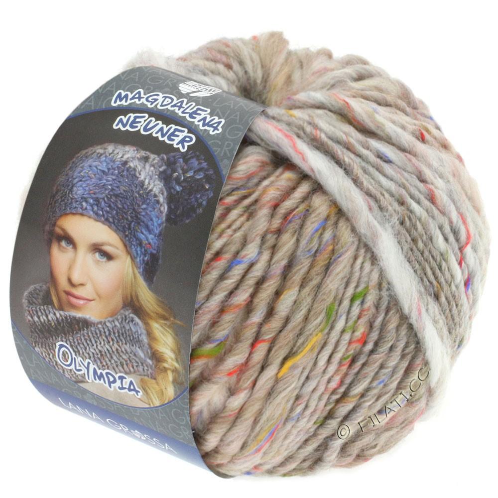 Lana Grossa OLYMPIA Tweed | 702-light beige/grège/sand mottled