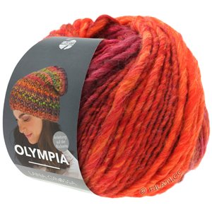 Lana Grossa OLYMPIA Classic | 070-red/orange/cherry red/wine red