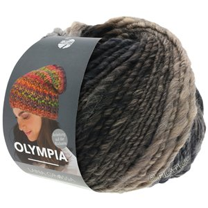 Lana Grossa OLYMPIA Classic | 074-gray brown/mocha/black/black brown