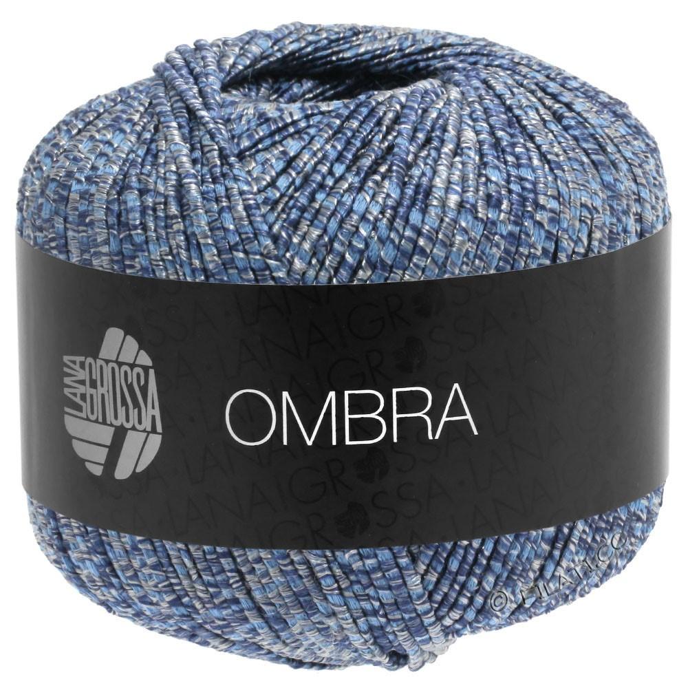 Lana Grossa OMBRA | 09-gray blue/jeans