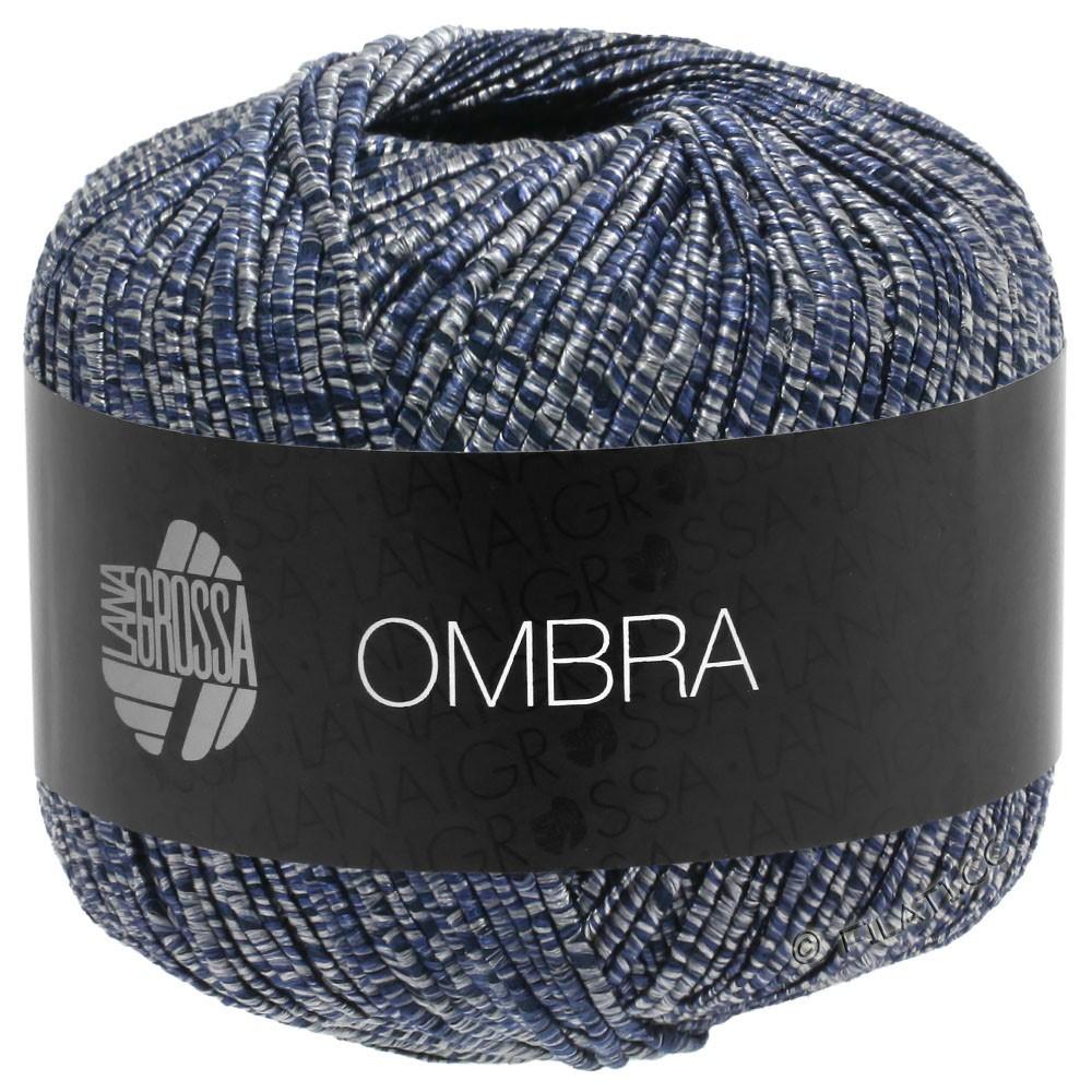 Lana Grossa OMBRA | 10-gray/night blue