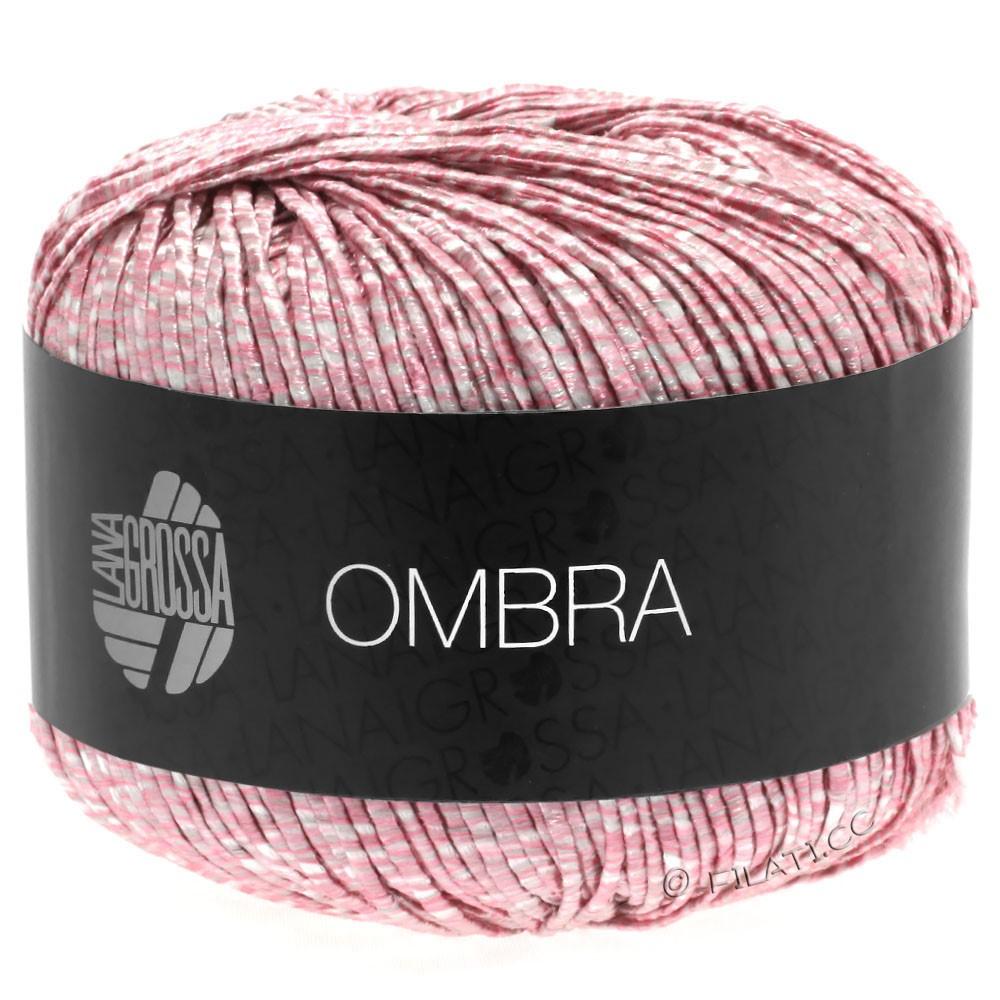 Lana Grossa OMBRA | 15-rose/white