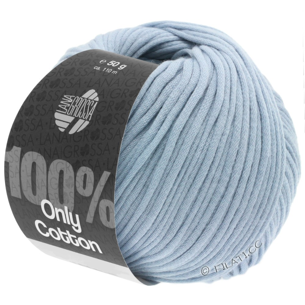 Lana Grossa ONLY COTTON | 07-light blue