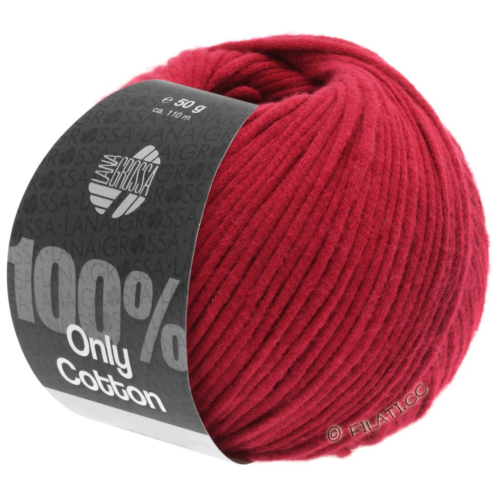 Lana Grossa ONLY COTTON | 08-dark red