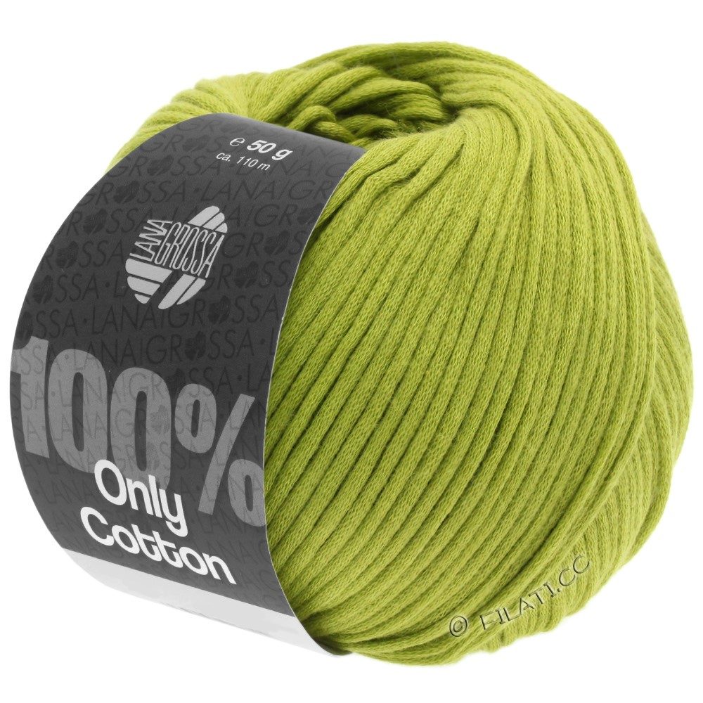 Lana Grossa ONLY COTTON | 10-yellow green