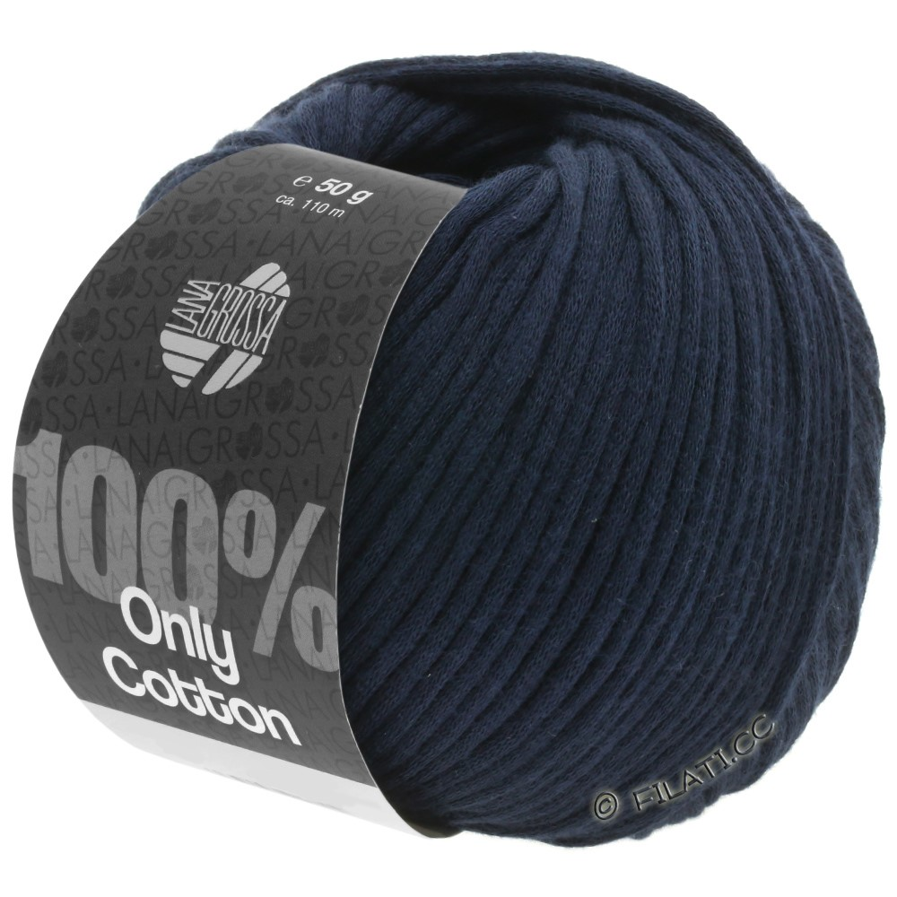 Lana Grossa ONLY COTTON | 11-night blue