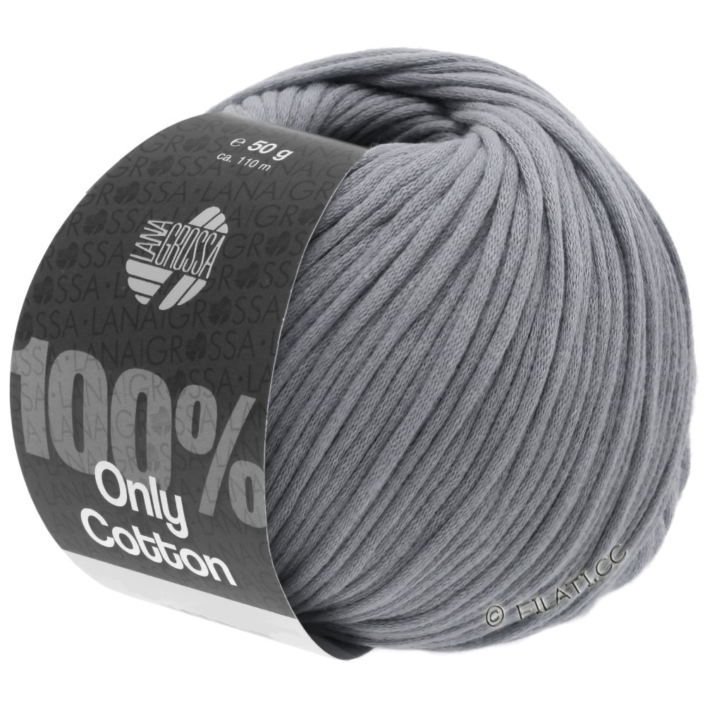 Lana Grossa ONLY COTTON | 12-dark gray