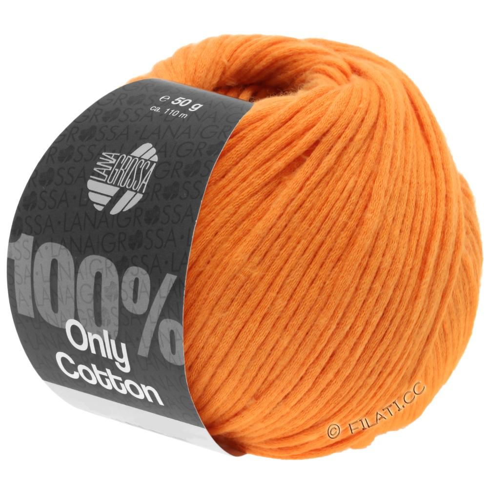 Lana Grossa ONLY COTTON | 16-orange