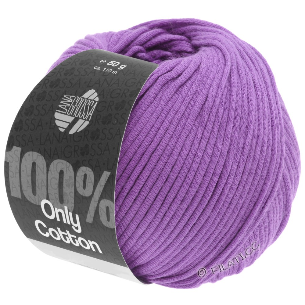 Lana Grossa ONLY COTTON | 19-purple