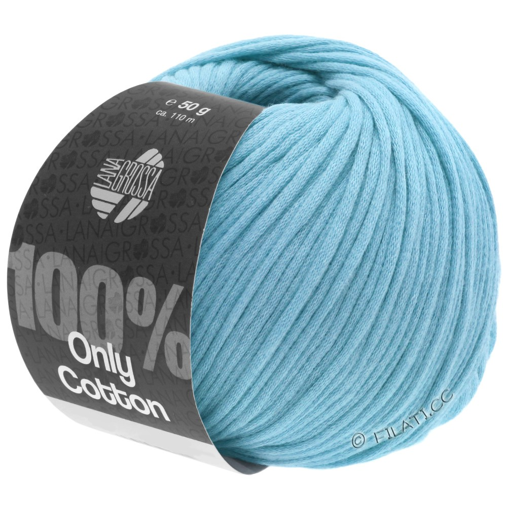 Lana Grossa ONLY COTTON | 21-turquoise