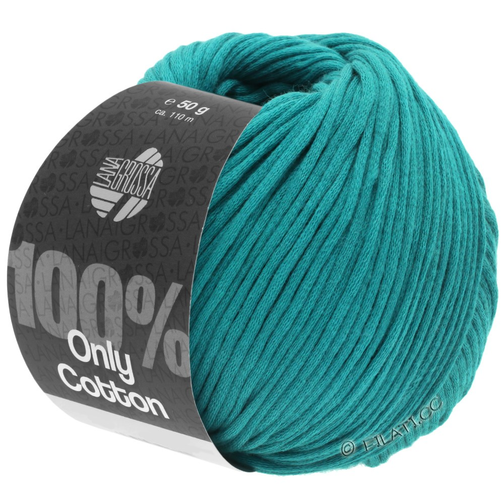 Lana Grossa ONLY COTTON | 22-aquamarine