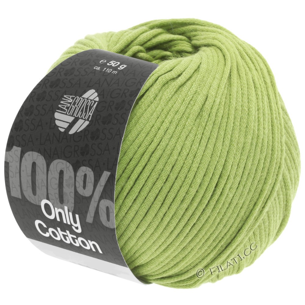 Lana Grossa ONLY COTTON | 23-linden green