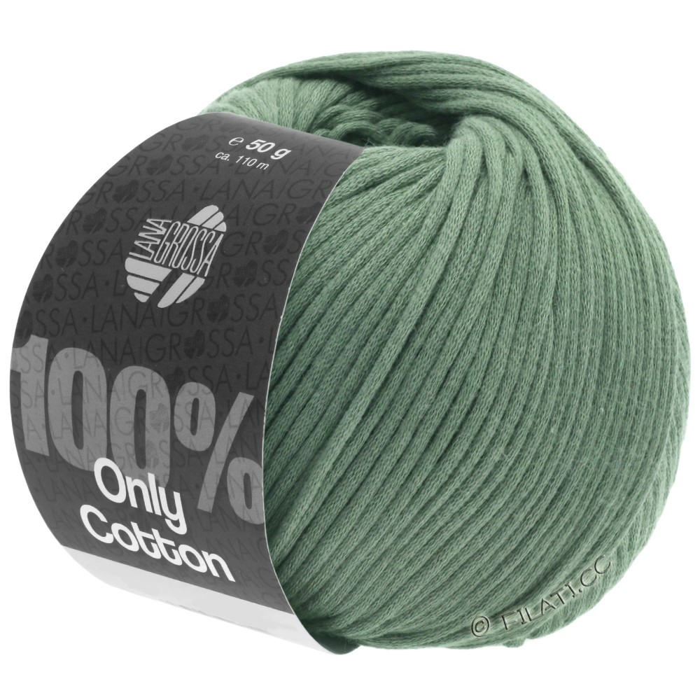 Lana Grossa ONLY COTTON | 24-reseda green