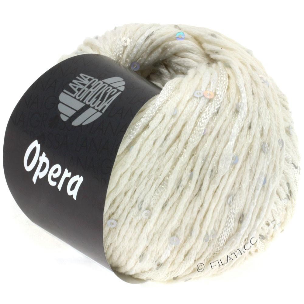 Lana Grossa OPERA   01-raw white