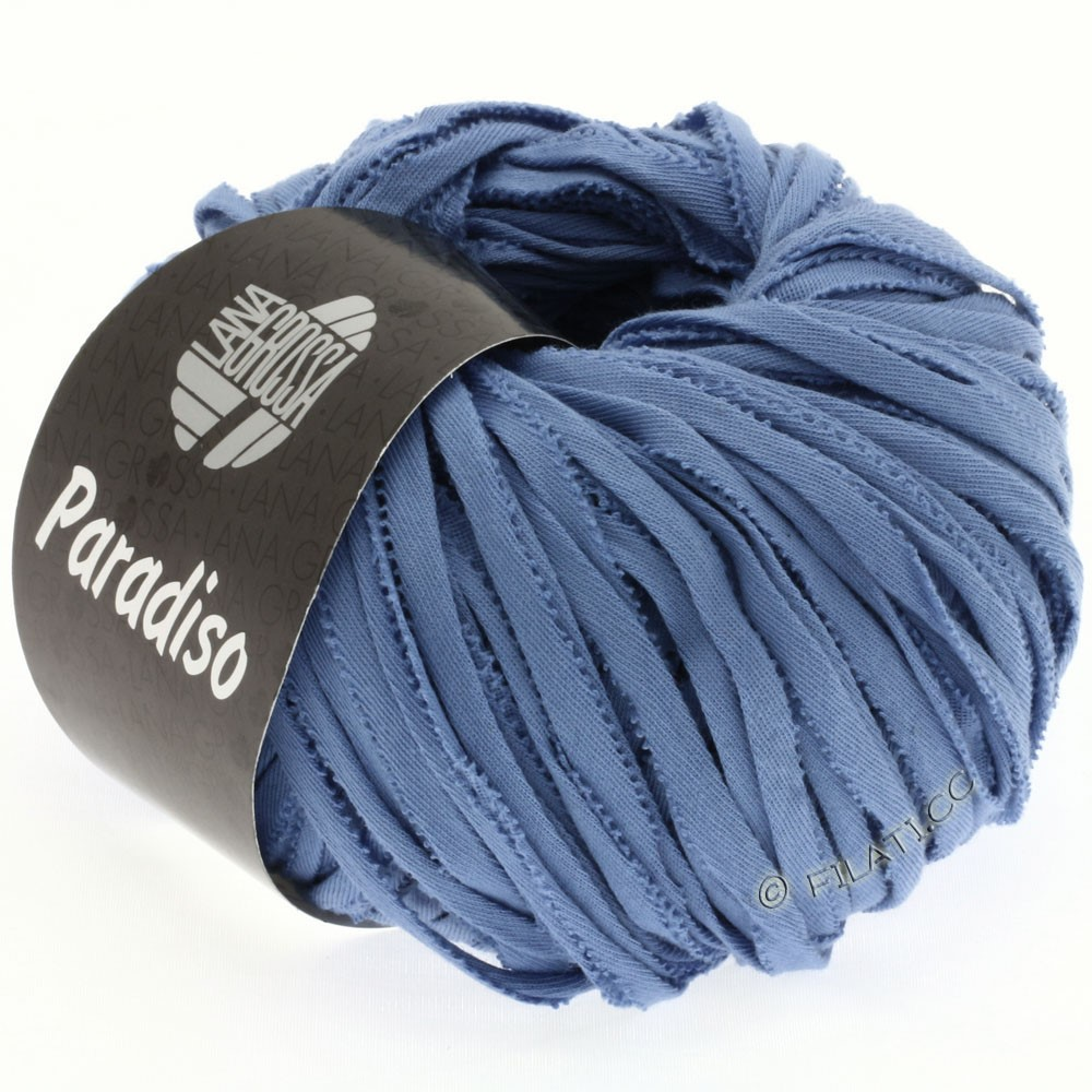Lana Grossa PARADISO Uni/Print | 003-jeans blue