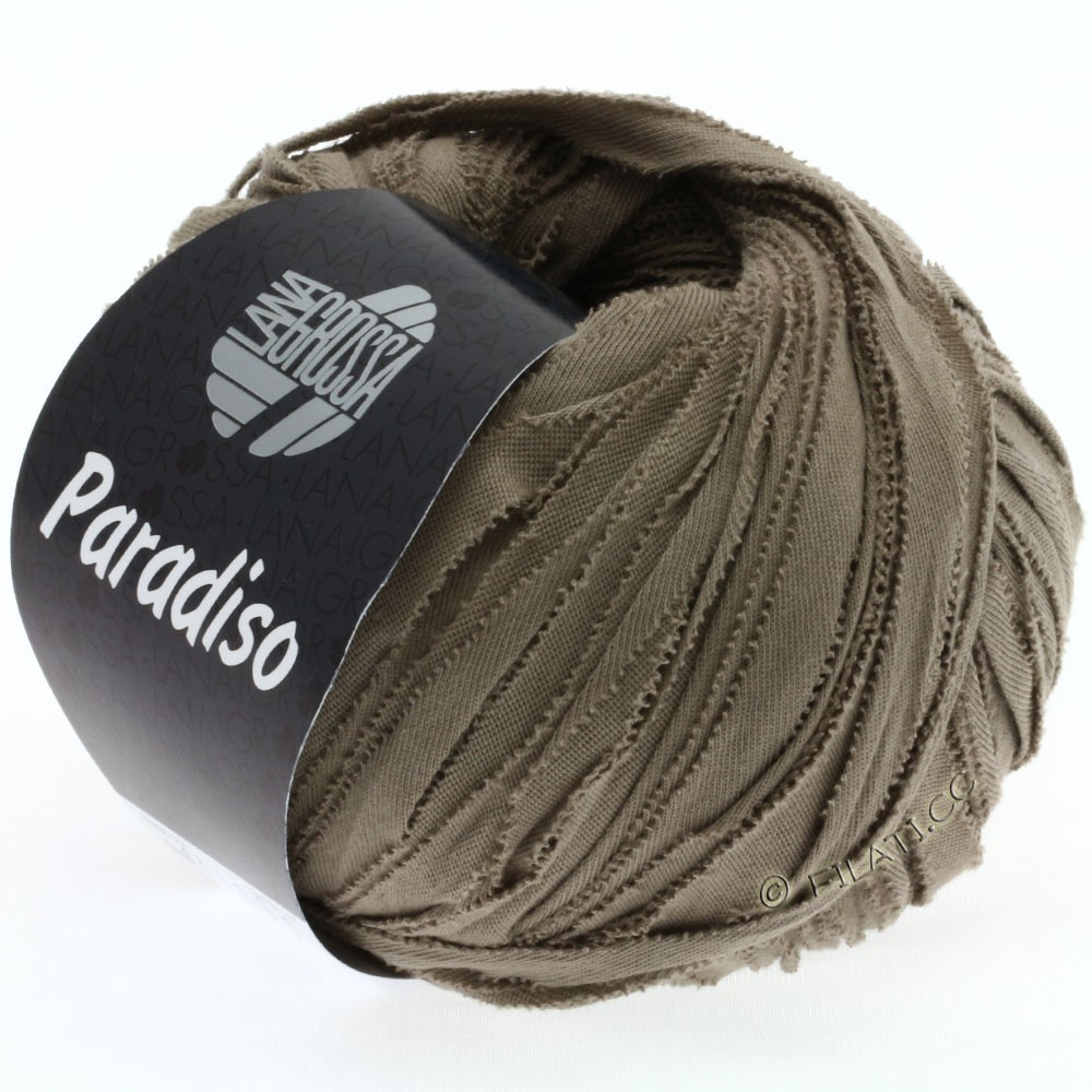 Lana Grossa PARADISO Uni/Print | 009-taupe