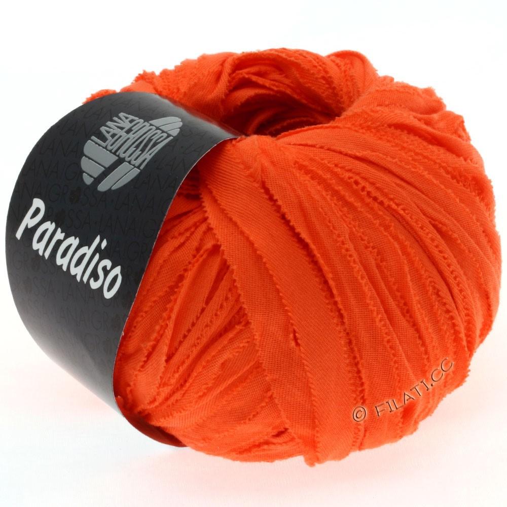 Lana Grossa PARADISO Uni/Print | 023-orange