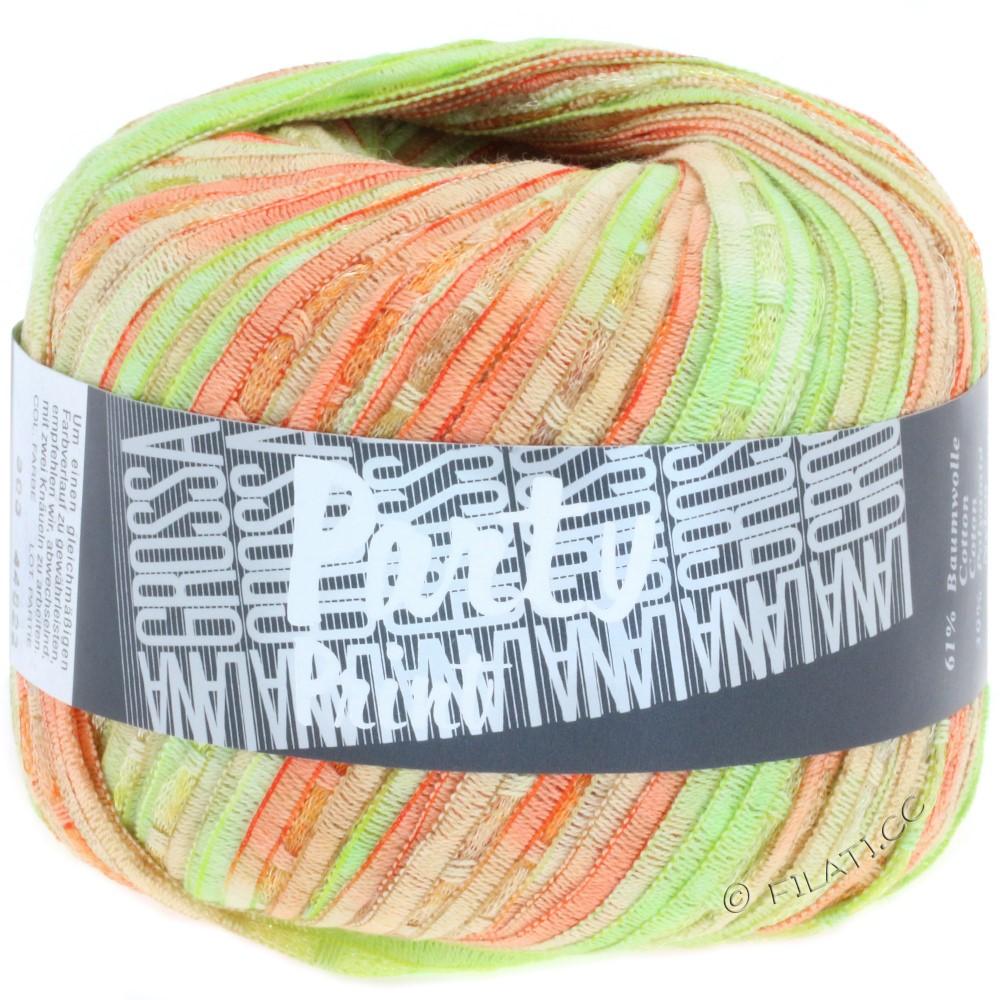 Lana Grossa PARTY Uni/Print | 303-orange/light green