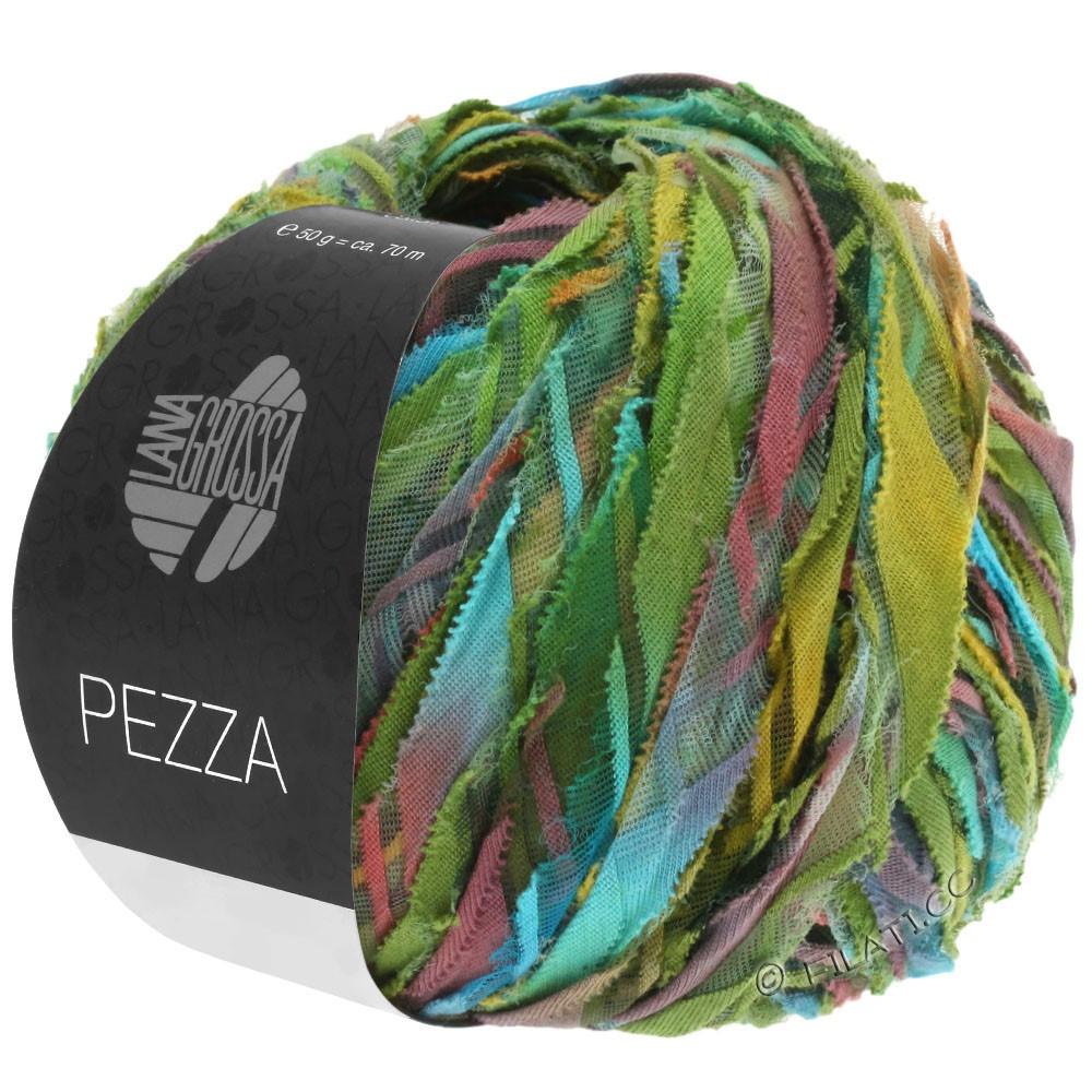 Lana Grossa PEZZA | 05-green/turquoise/terracotta/ochre/olive