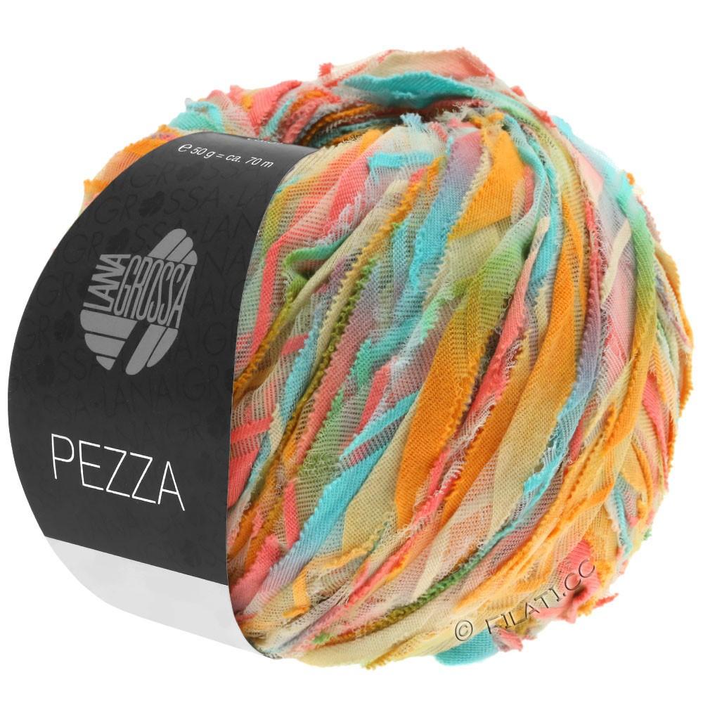 Lana Grossa PEZZA | 06-mint/salmon/ochre/beige