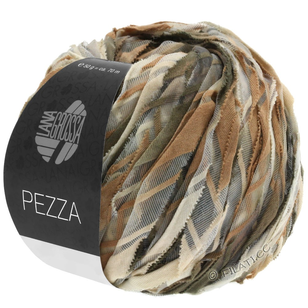 Lana Grossa PEZZA | 08-beige/camel/taupe/gray brown