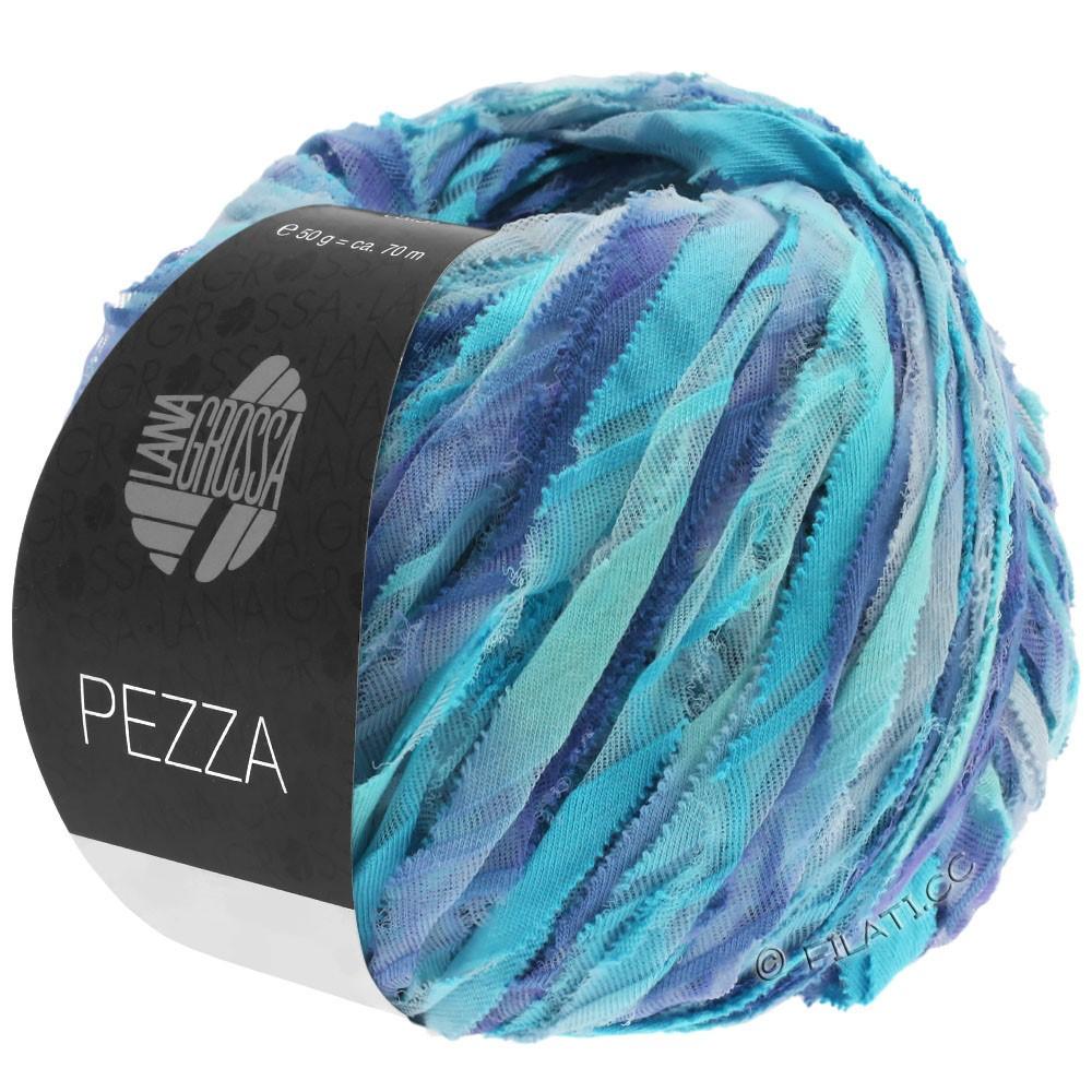 Lana Grossa PEZZA | 10-mint/turquoise/blue violet/purple blue