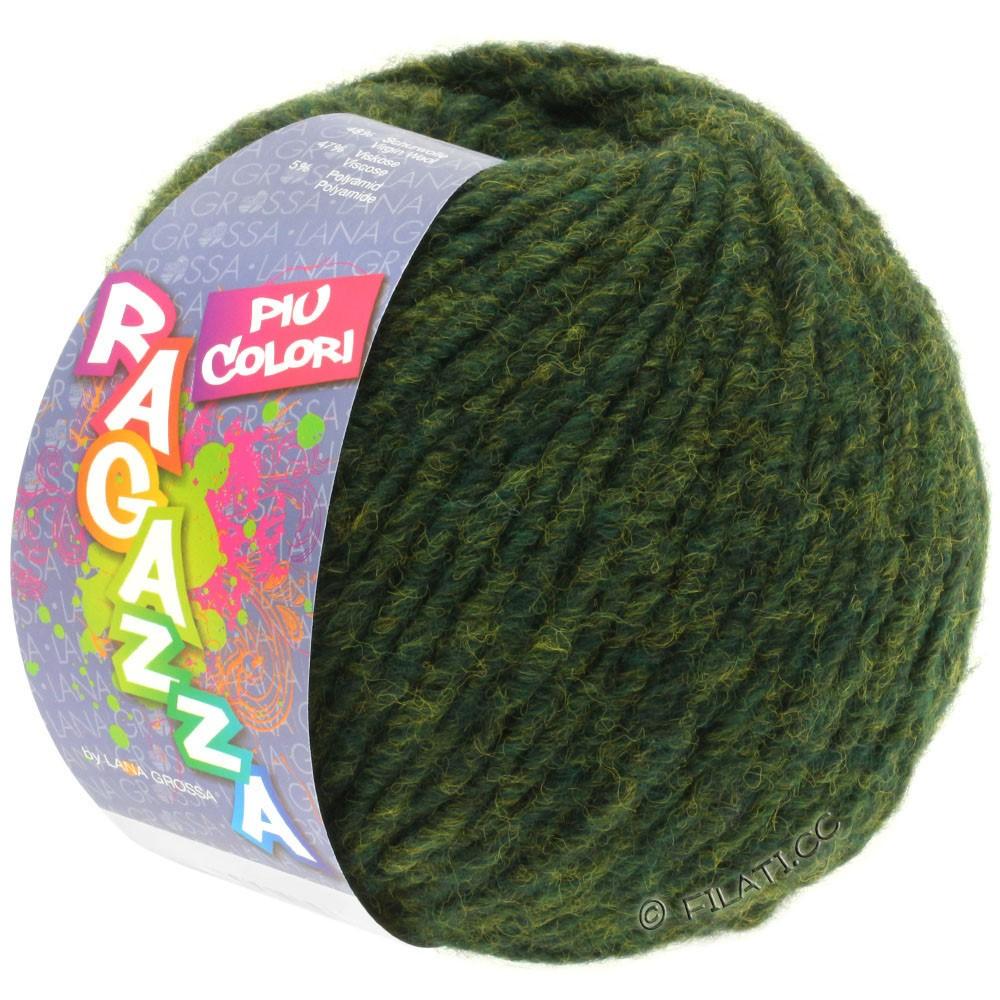 Lana Grossa PIU COLORI (Ragazza) | 02-dark green mottled