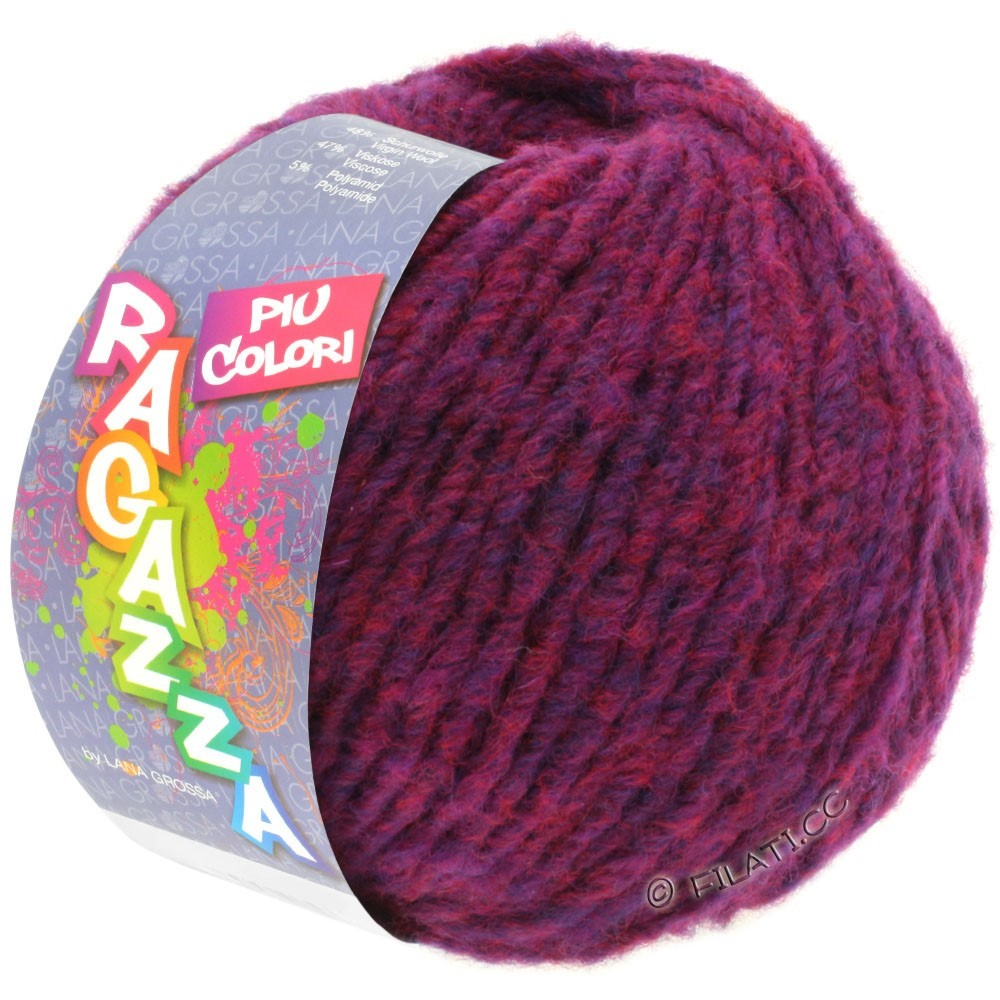 Lana Grossa PIU COLORI (Ragazza) | 05-purple mottled