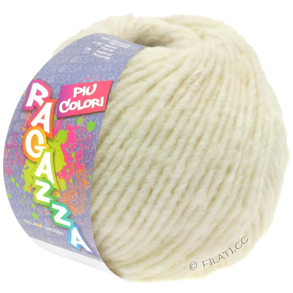 Lana Grossa PIU COLORI (Ragazza) | 08-raw white