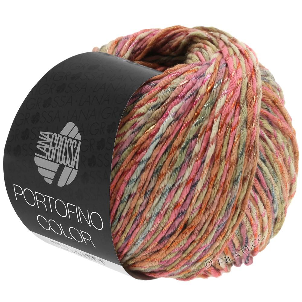 Lana Grossa PORTOFINO Color | 103-antique rose/sand/gray/cinnamon