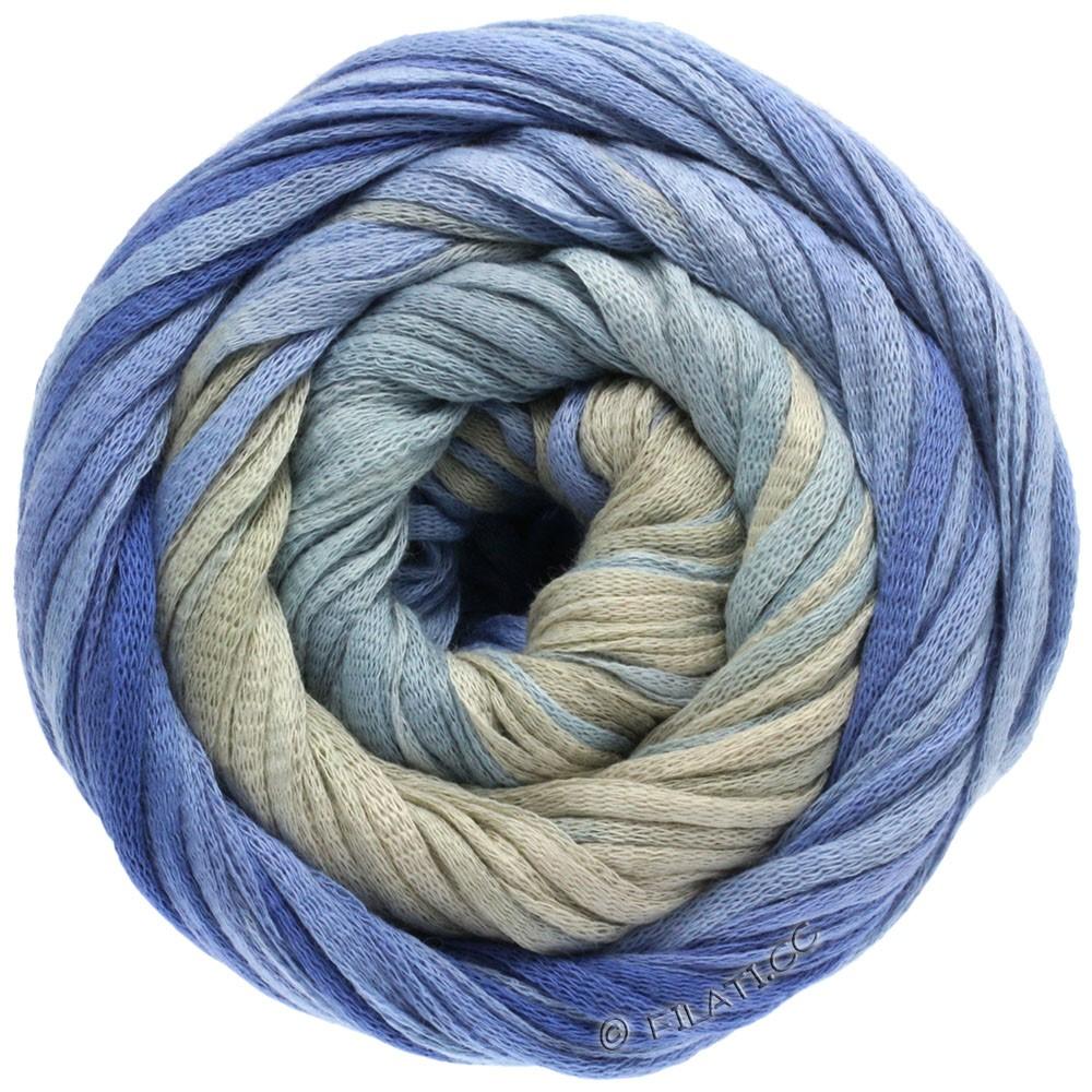 Lana Grossa PRIMAVERA | 103-light gray/medium gray/dark gray/steel blue