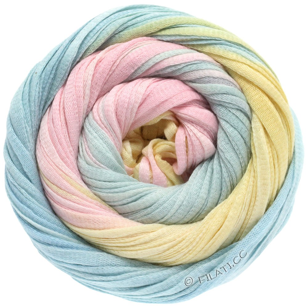Lana Grossa PRIMAVERA | 108-rose/ice blue/vanilla/mint